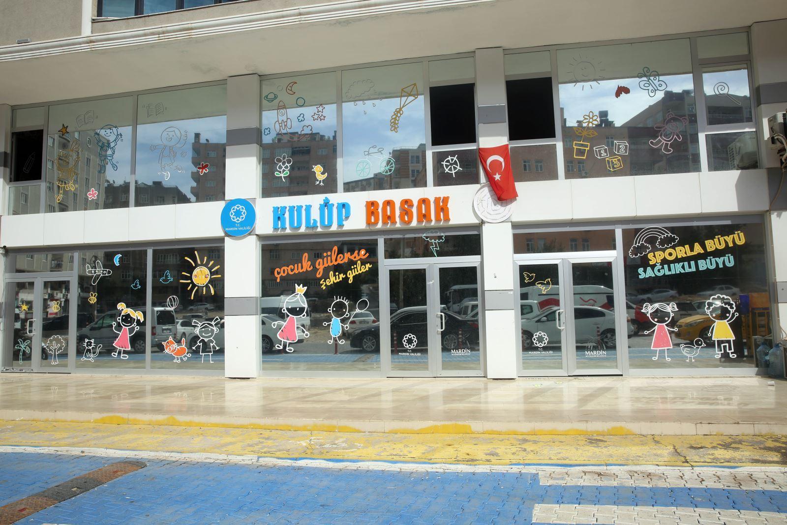 Mardin'de Çocuk Aktivite ve Spor Merkezi açılıyor