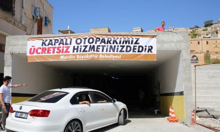 Cumhuriyet Meydanı Otopark Projesi, faaliyete girdi