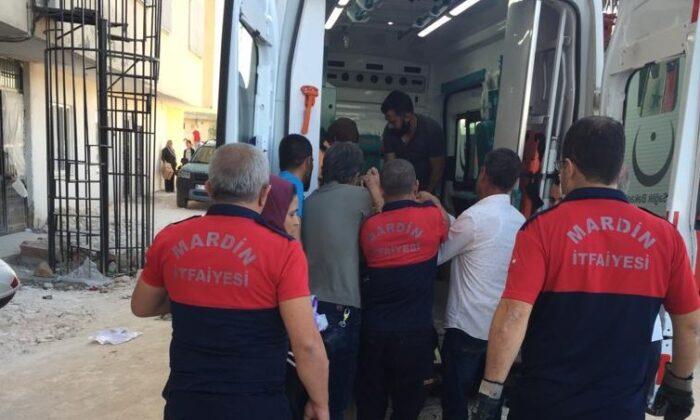 Mardin'de mutfak tüpü patladı: 1 yaralı