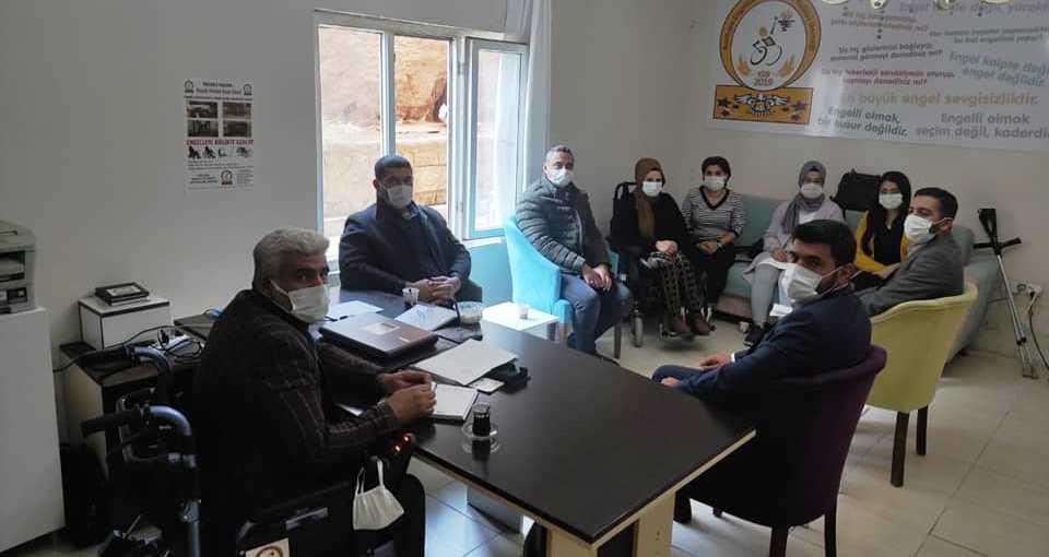 SP Kızıltepe İlçe Yönetiminden 3 Aralık Dünya Engelliler Günü Ziyareti