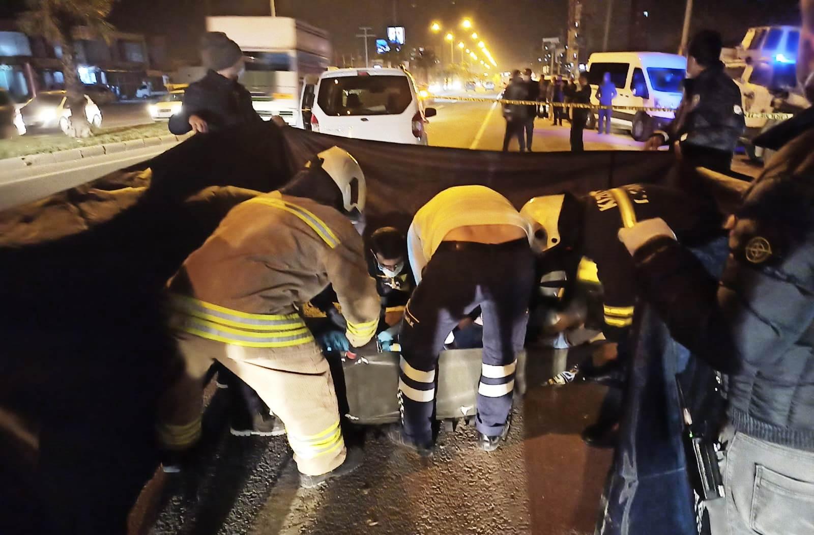 Mardin'de hafif ticari araç ile motosiklet çarpıştı: 1 ölü