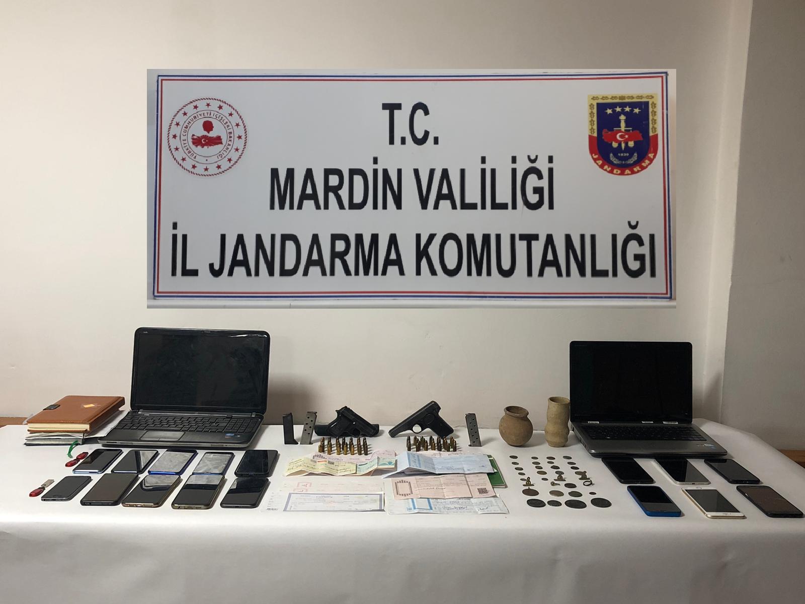 Mardin'de tefeci ve bahis çetesine jandarmadan şafak operasyonu