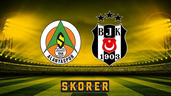 Aytemiz Alanyaspor – Beşiktaş muhtemel 11'ler