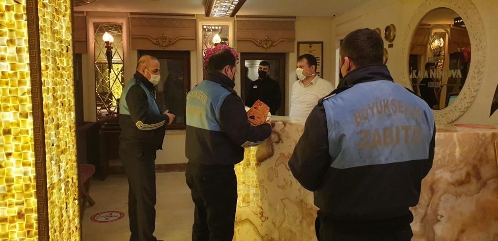 Mardin'de yılbaşı öncesi denetim yapıldı