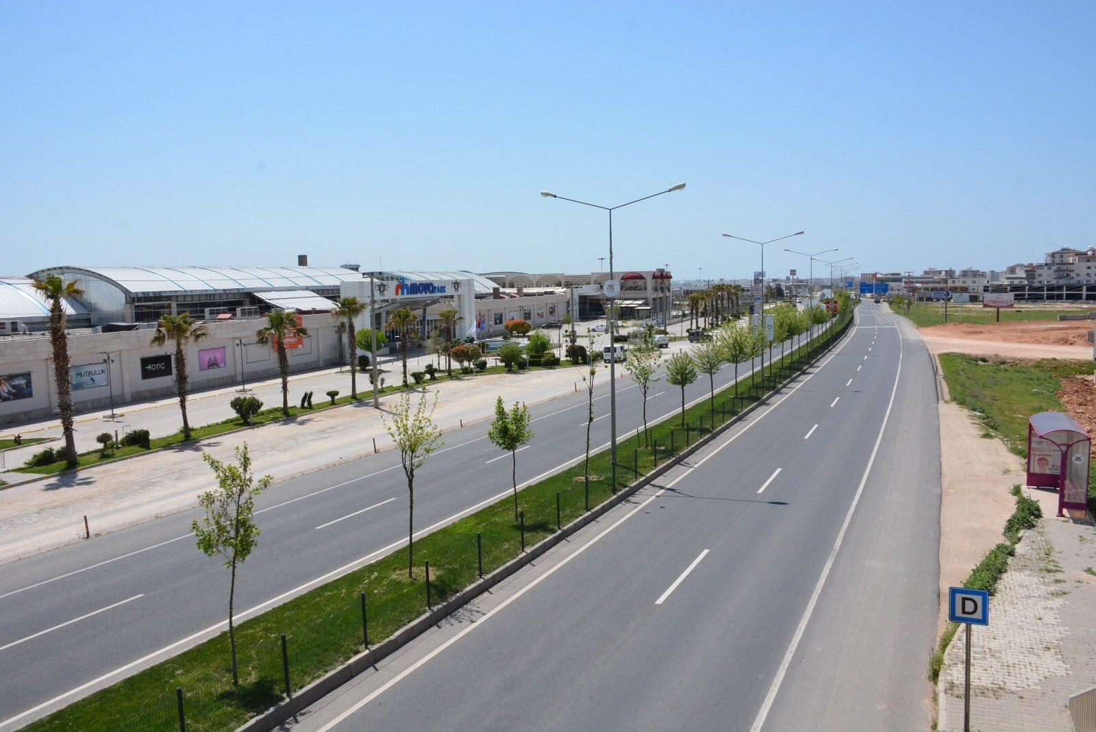 Kızıltepe'de korona virüs sessizliği