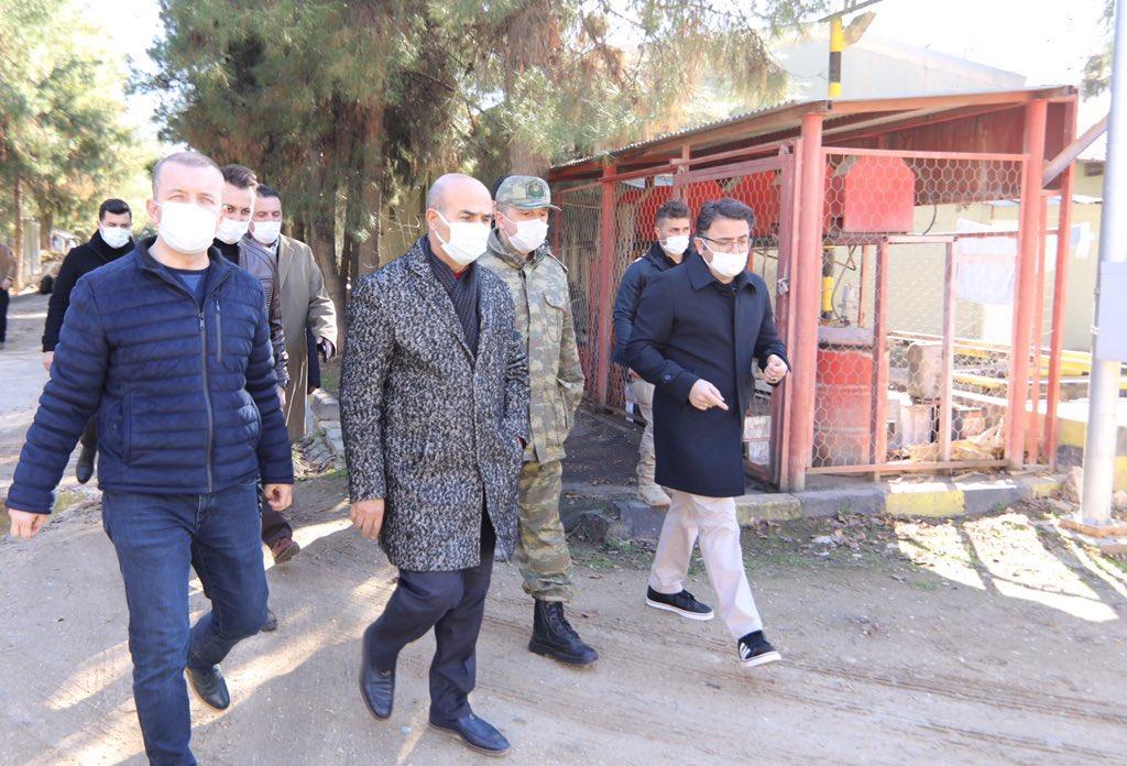 Kızıltepe'de Millet Bahçesi Yapımı İçin İncelemeler Yapıldı