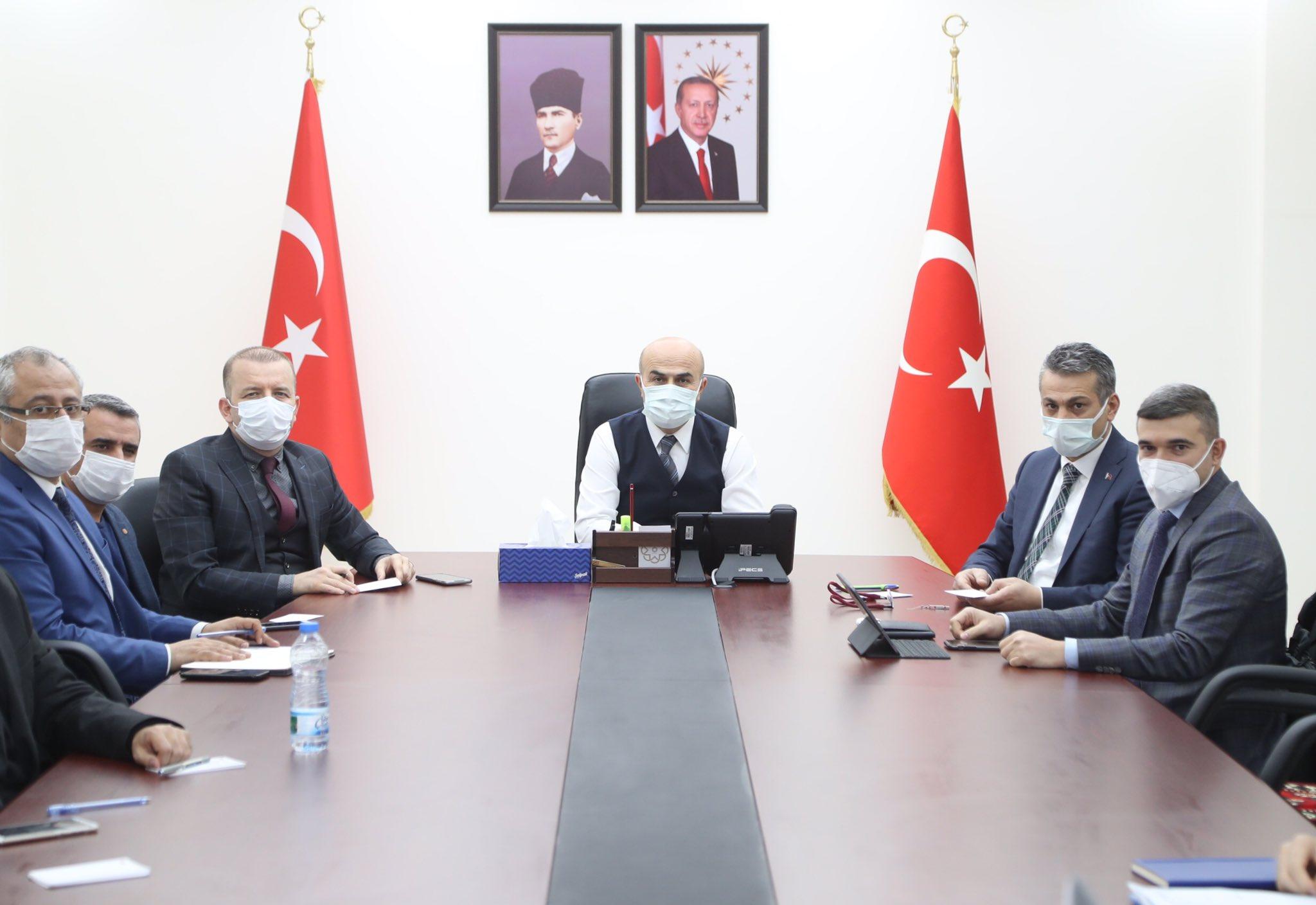 Mardin'de Çevre ve Şehircilik Bakanlığının yapacağı yatırımlar değerlendirildi