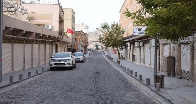 Mardin'de kısıtlamanın ikinci gününde de sessizlik hakim