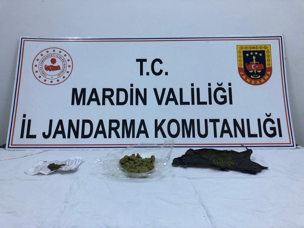 Mardin'de uyuşturucu operasyonunda 4 şüpheli gözaltına alındı