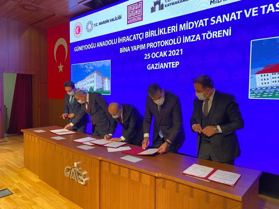 Midyat Sanat Ve Tasarım Fakültesi binası için imzalar atıldı