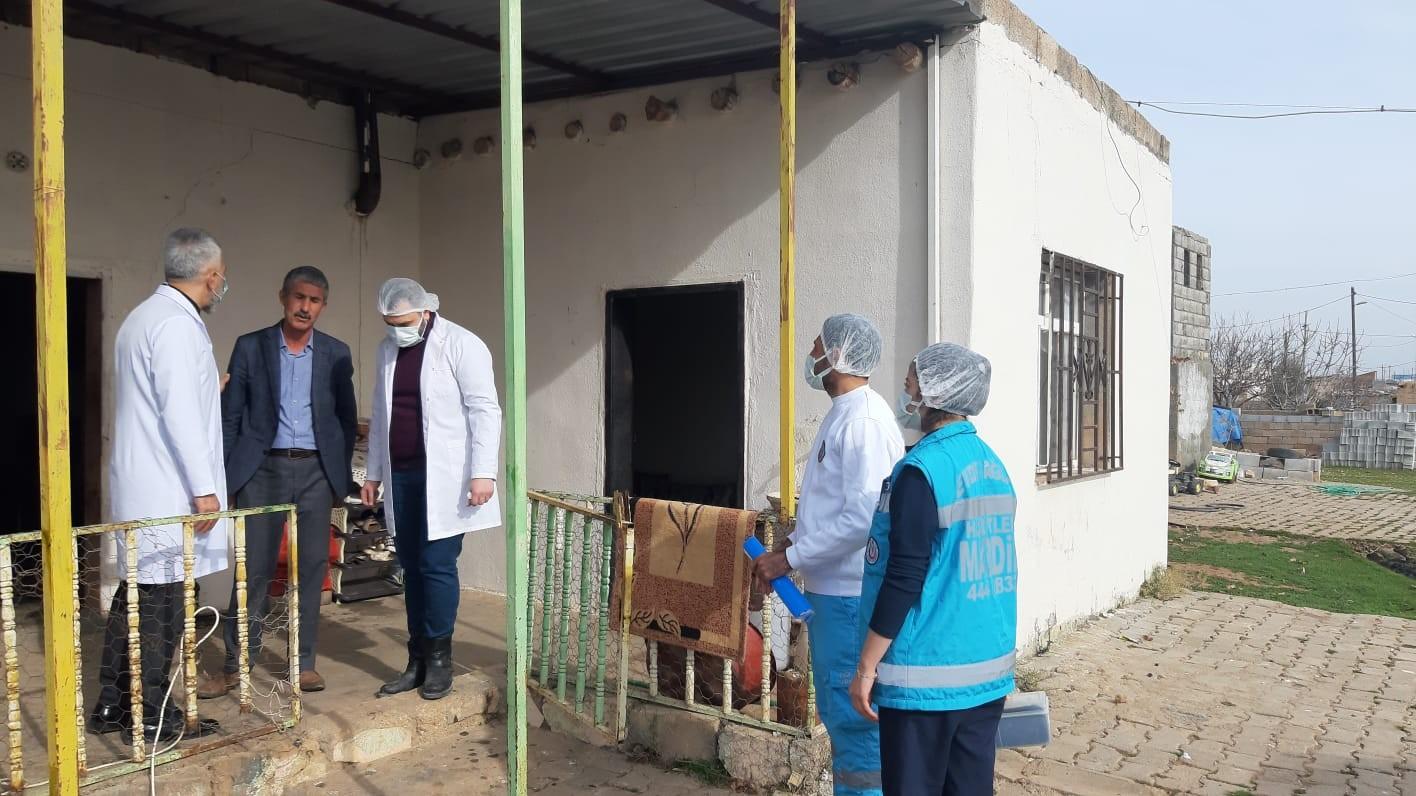 Mardin'de 8 bin 867 hastaya evde sağlık hizmeti verildi