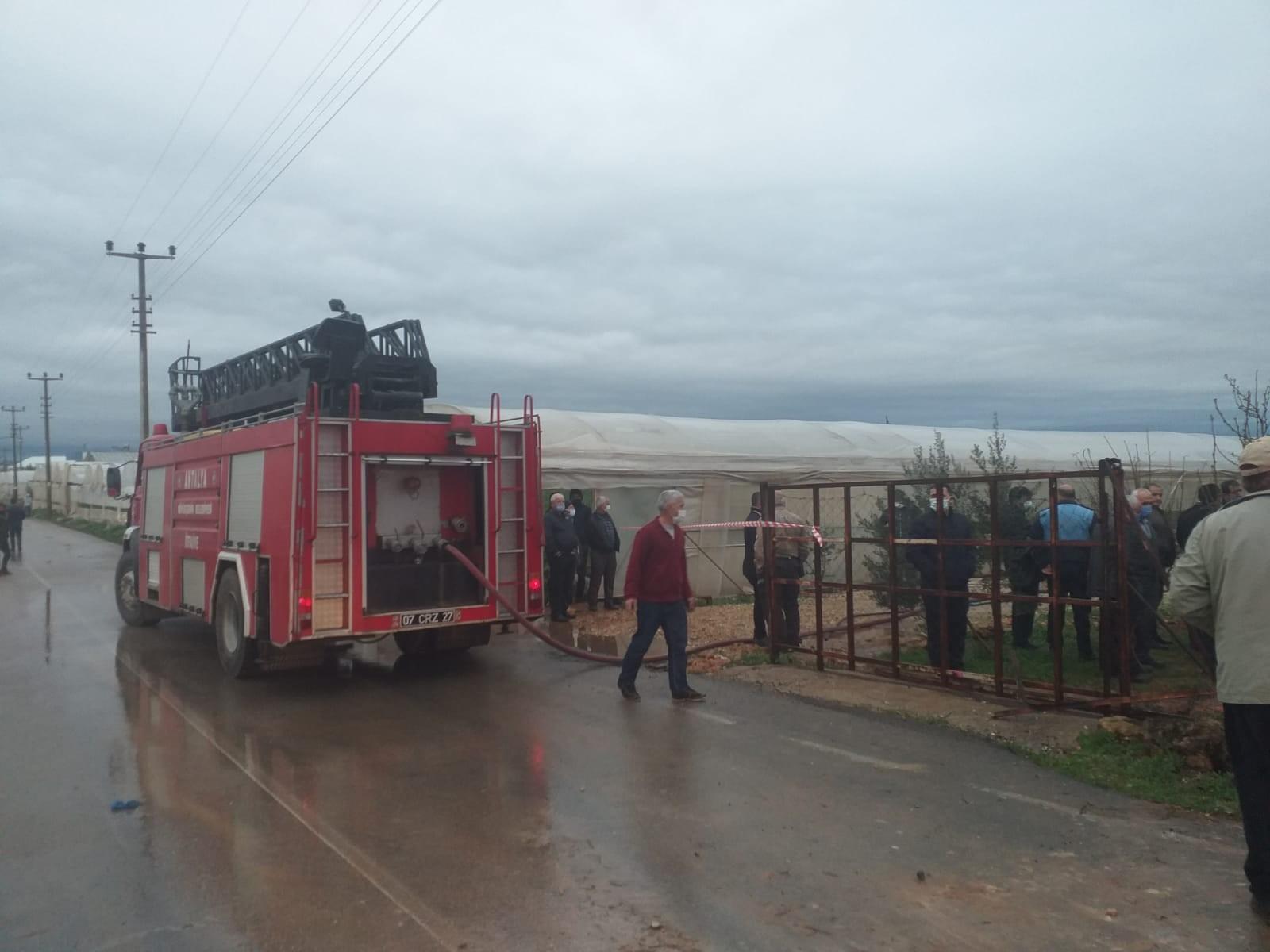Antalya'da Kadriye Turgut ev yangınında hayatını kaybetti