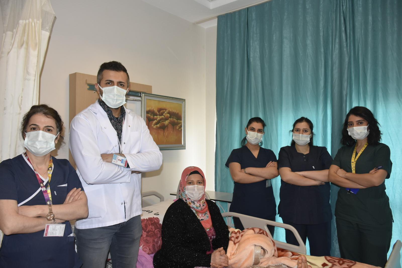 Devlet Hastanesinde ilk defa yapılan ameliyat ile sağlığına kavuştu