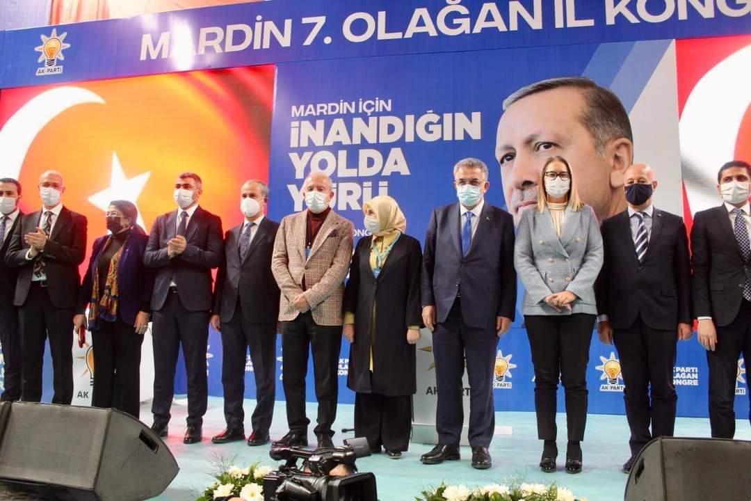 AK Parti Mardin 7. Olağan Kongresinde Faruk Kılıç,  Güven Tazeledi