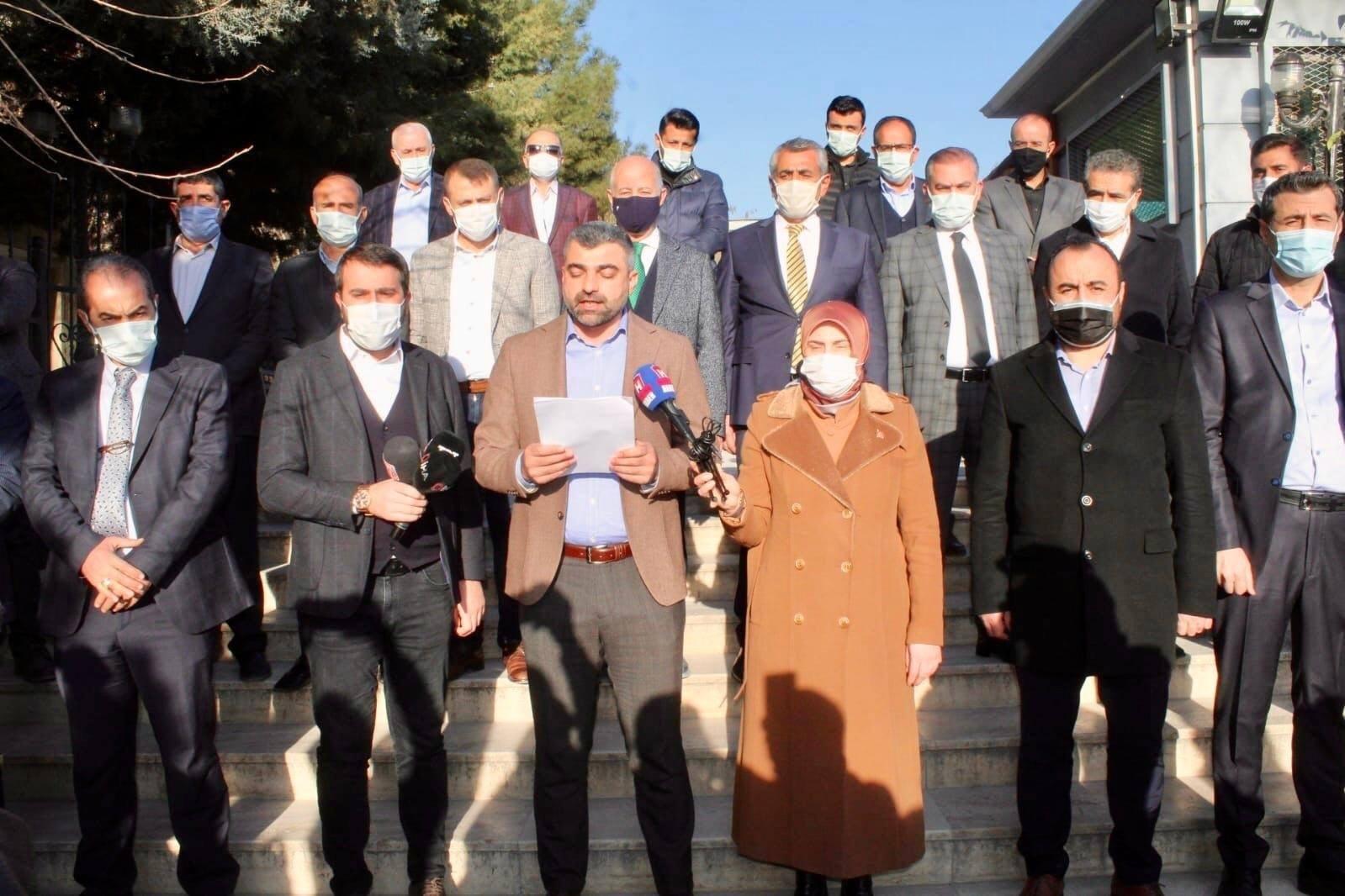 AK Parti Mardin Teşkilatından 3 İsme Suç Duyurusu