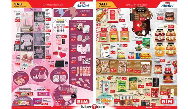 BİM 2 Şubat Aktüel Ürünler Kataloğu, BİM 2 Şubat ürünler