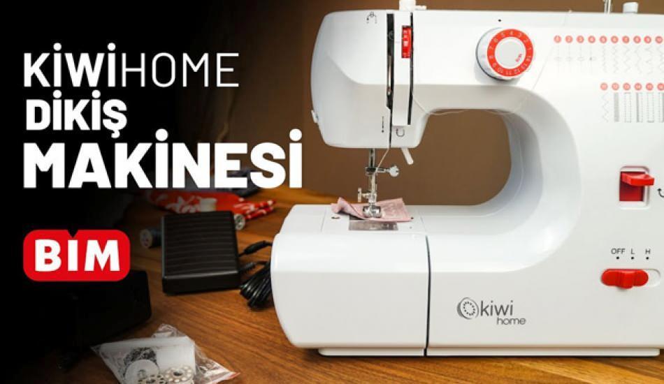 Bim'de satılan Kiwi overlok makinesi özellikleri nelerdir?