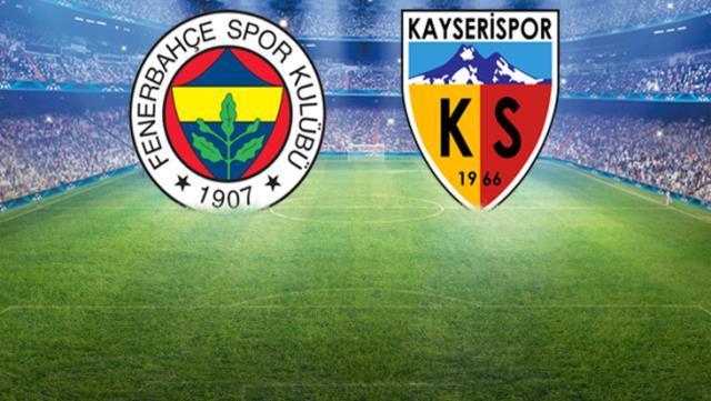 Fenerbahçe Kayserispor Canlı İzle, Fenerbahçe Kayserispor şifresiz izle