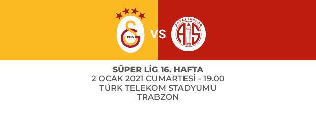 Galatasaray – Antalyaspor MUHTEMEL 11'LER