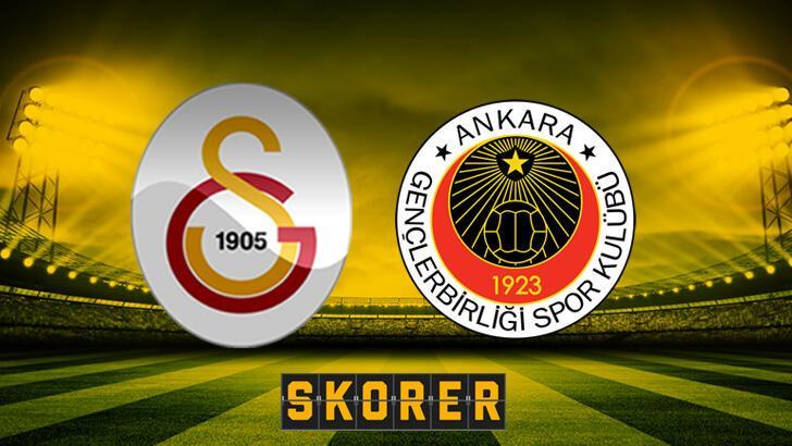 Galatasaray Gençlerbirliği Canlı İzle, GS Gençlerbirliği Maçını Canlı İzle