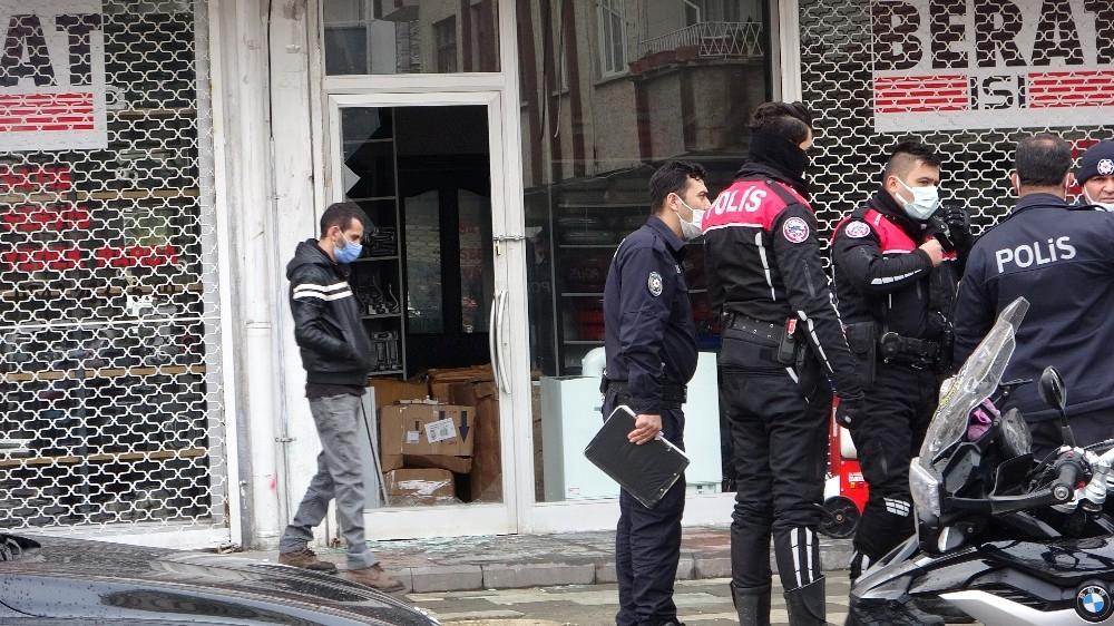 Gaziantep'te kombi satışı yapan İş yerine pompalı saldırı: 1 yaralı