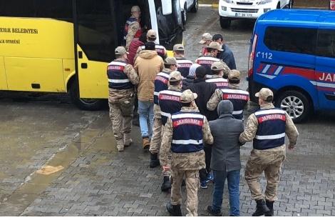 Mardin'de define avcıları suçüstü yakalandı