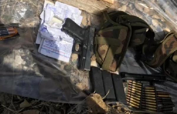 Mardin'de imha edilen 4 sığınakta suikast silahı ele geçirildi