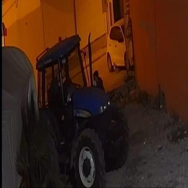 Kızıltepe'de 250 bin lira değerindeki traktörü kapı önünden çaldılar