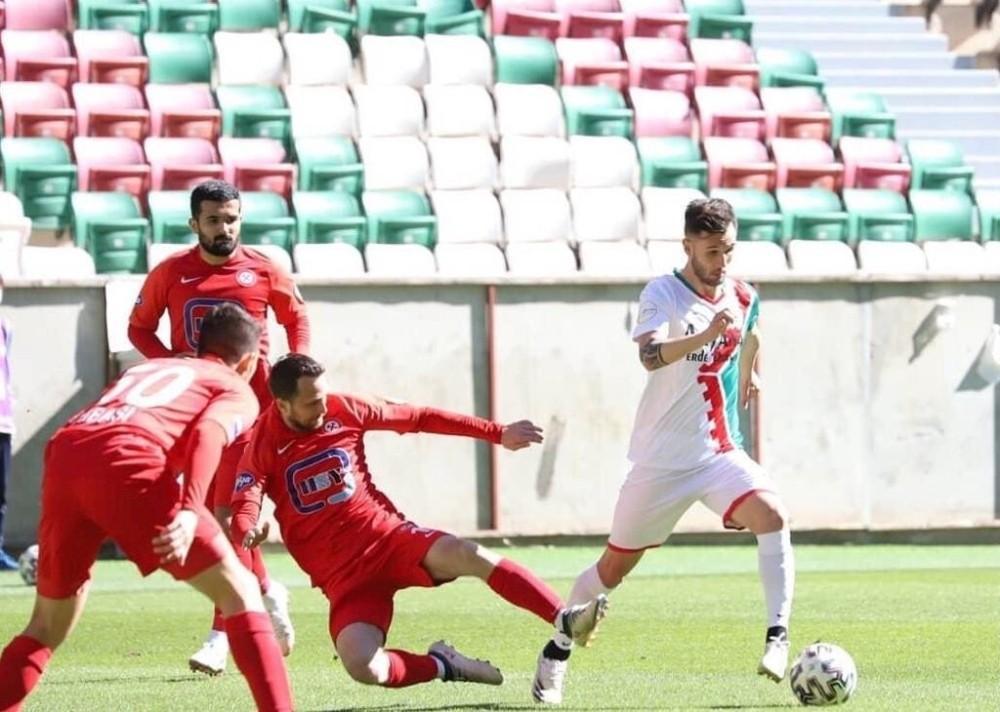 2. Lig: Amed Sportif: 2 – Zanguldak Kömürspor: 0