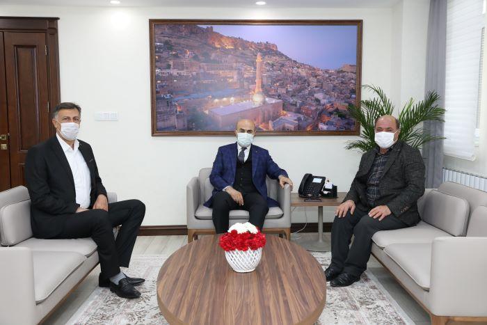 Mardin Valisi Demirtaş muhtarların sorunlarını dinledi