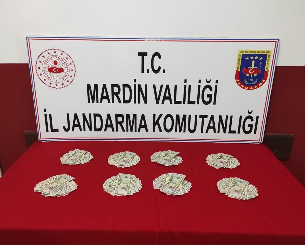 Mardin'de sahte dolar operasyonu: 2 gözaltı