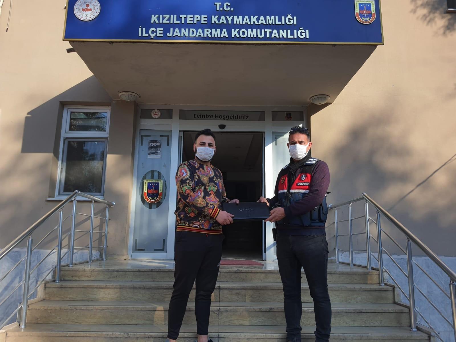 Kızıltepe'de hırsızlar jandarmadan kaçamadı