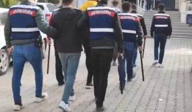 Kızıltepe'de jandarma ekipleri firari 4 zanlıyı yakaladı