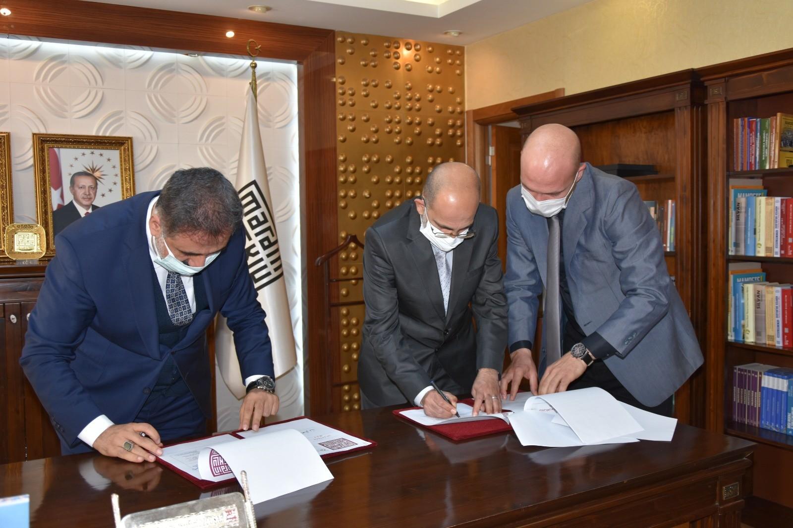 Artuklu Üniversitesi Şam Üniversitesi ile iş birliği protokolü imzaladı