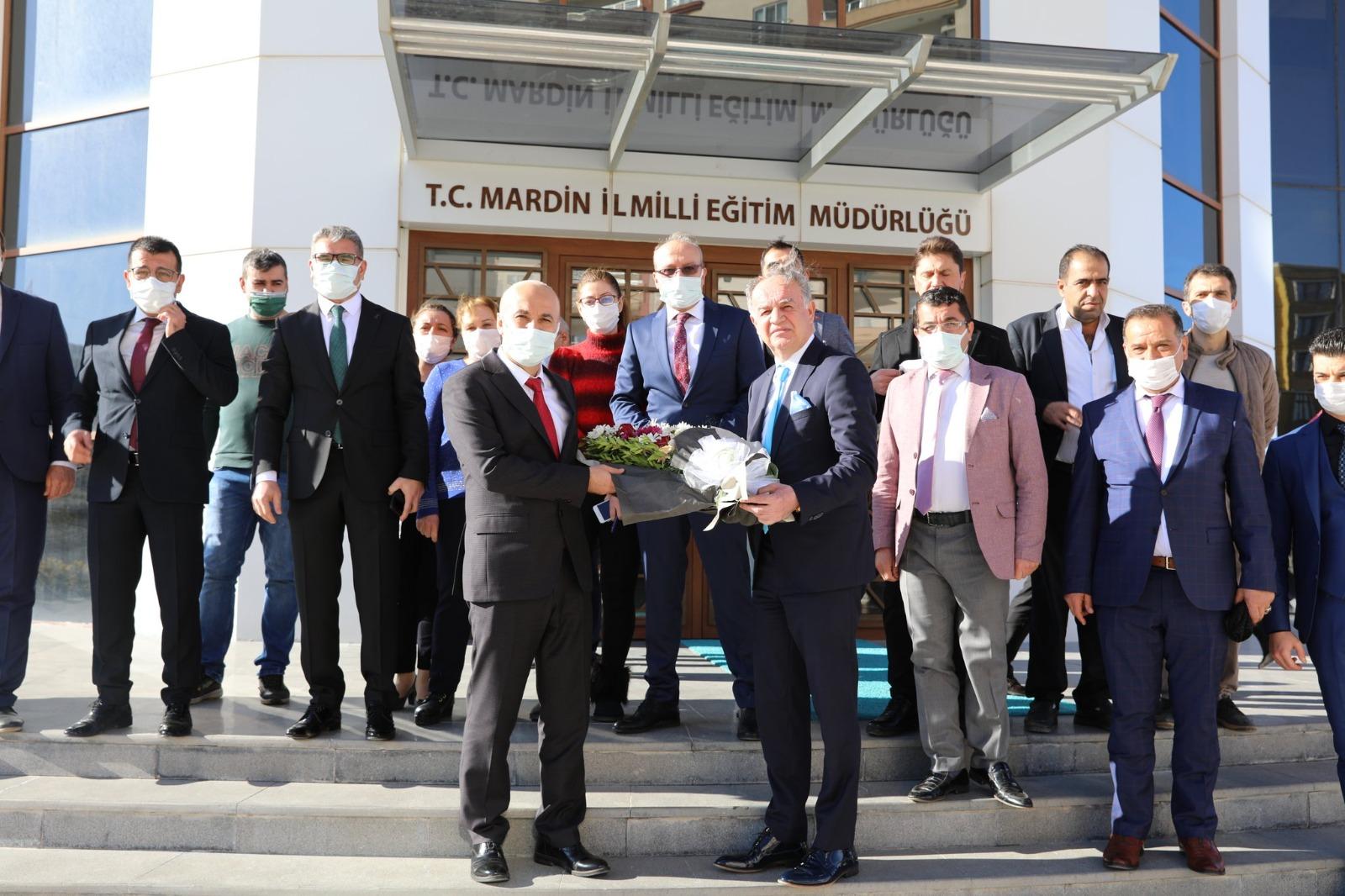 Mardin'in Yeni İl Milli Eğitim Müdürü Göreve Başladı