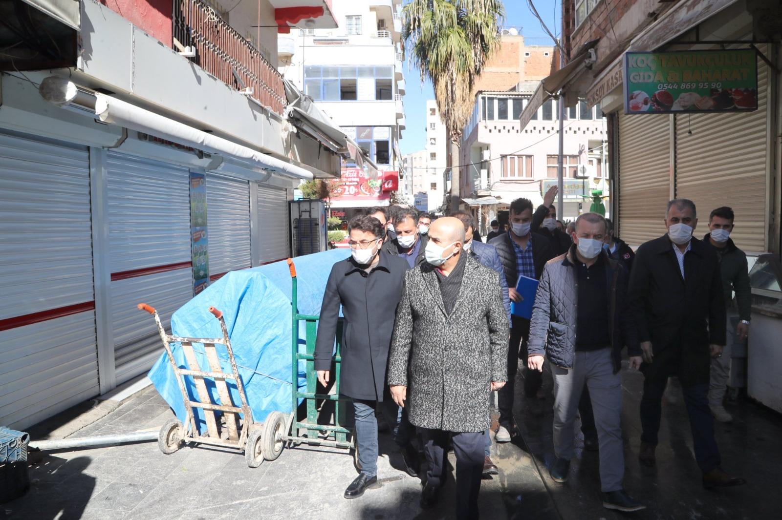 """Vali Demirtaş: """"Kızıltepe'ye yakışır bir meydan oluşturacağız"""""""