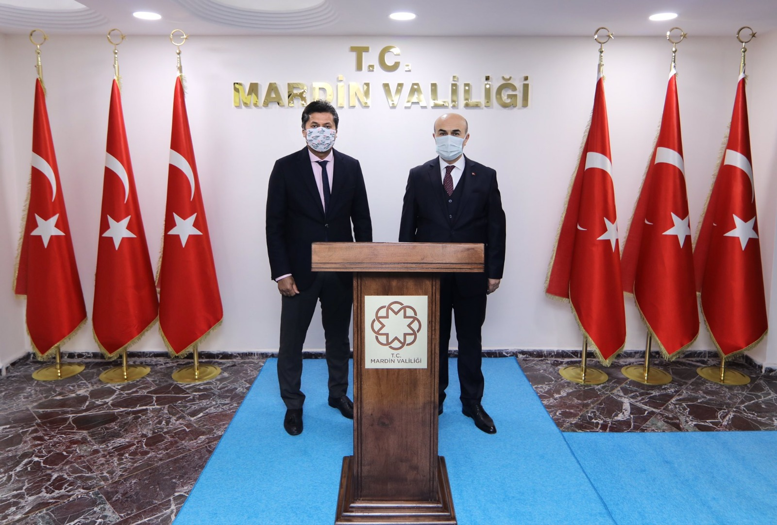 Sri Lanka Ankara Büyükelçisi Hassen'den Mardin Valisi Demirtaş'a ziyaret