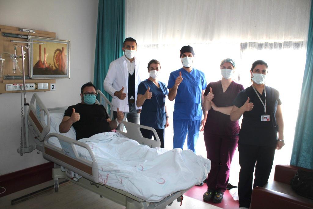 """Mardin'de ilk defa """"Pateller Tendon Rekonstrüksiyonu"""" ameliyatı yapıldı"""