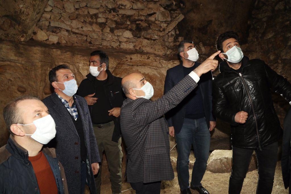 Mardin Valisi Mahmut Demirtaş, sahada incelemelerini sürdürüyor