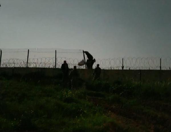 Kızıltepe'de Türkiye'ye yasa dışı yollardan girmeye çalışan biri PKK'lı 3 kişi yakalandı