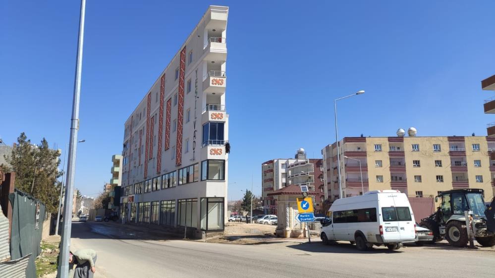 Mardin'de bulunan 'ip bina' sosyal medyada gündem oldu