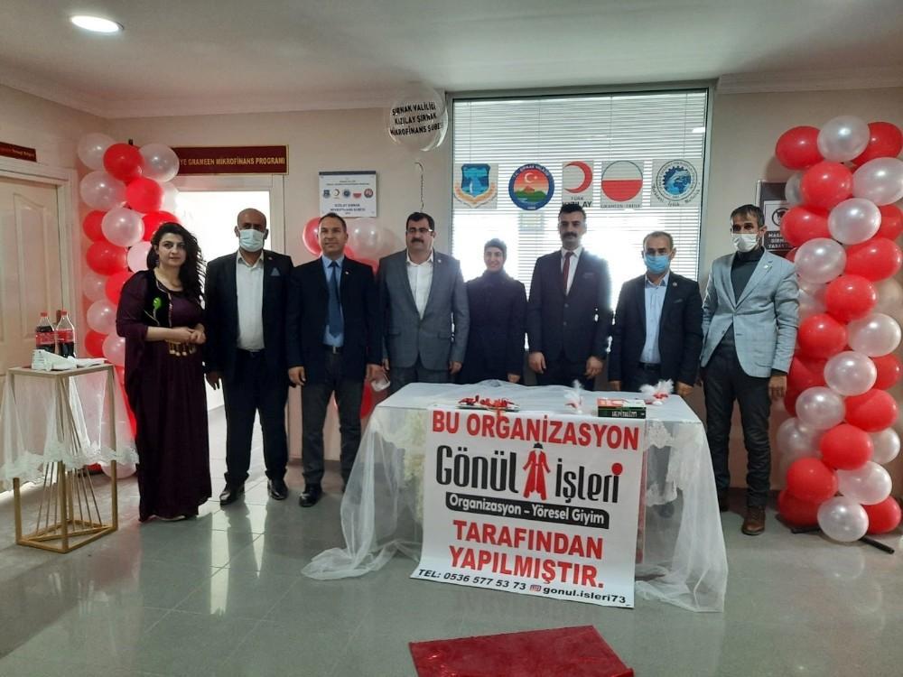 Şırnak'ta mikrofinans şubesi açıldı