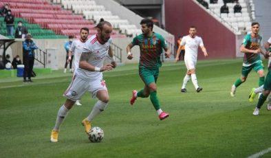 2. Lig: Amedspor: 1 – Çorum Futbol Kulübü: 2