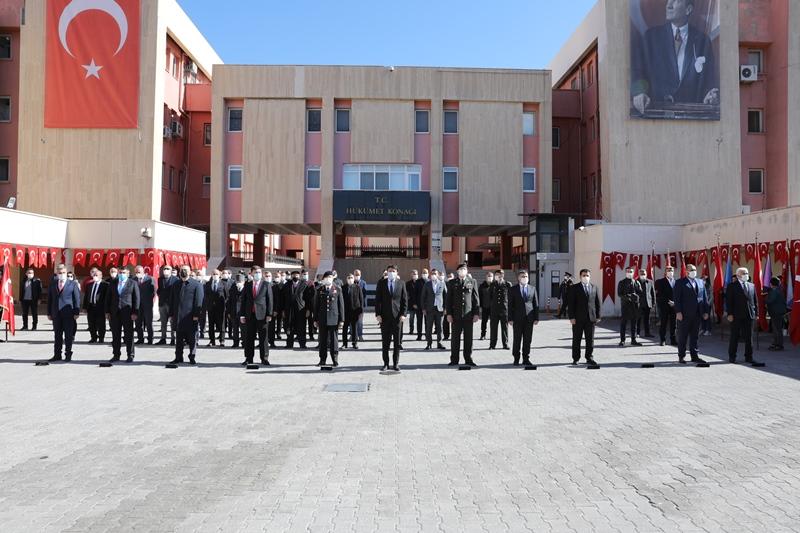 Büyük Önder Atatürk'ün Mardin'e gelişinin 105. yılı kutlandı
