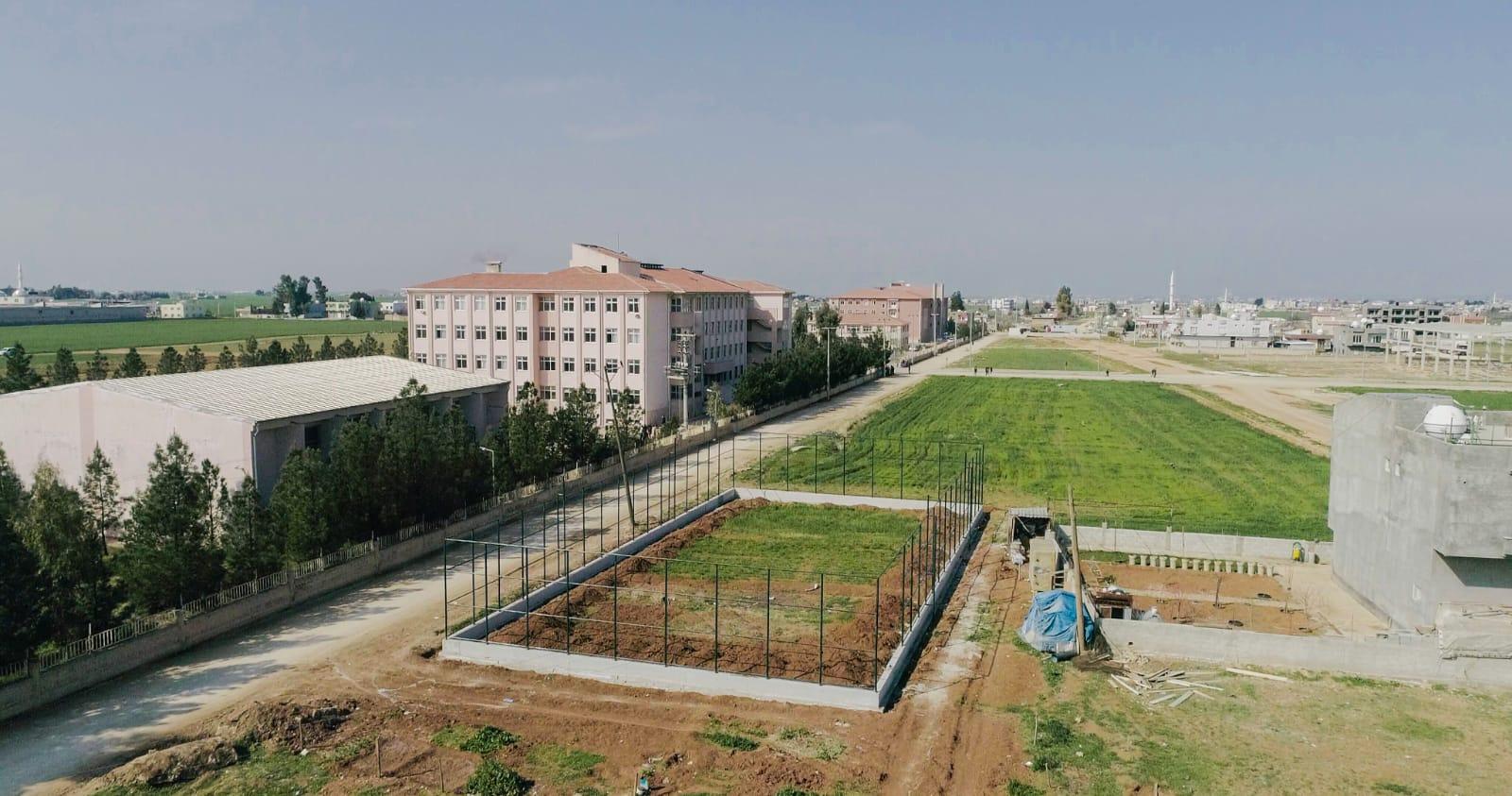 Kızıltepe'de Gençlerin Spor Alanları Artıyor