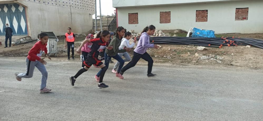 Mardin'de Atletizm Geliştirme Projesi ilçe seçimleri yapıldı