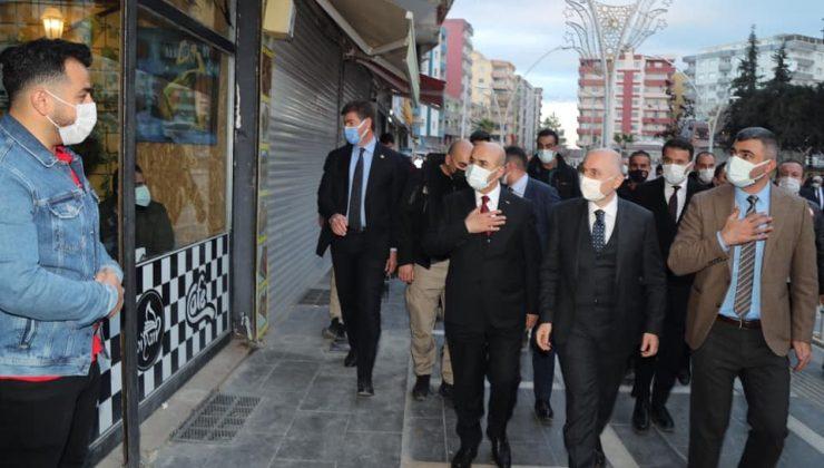 Ulaştırma ve Altyapı Bakanı Karaismailoğlu, Kızıltepe'yi ziyaret etti