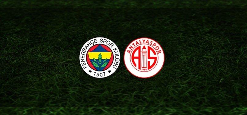Taraftarium24, Taraftarium 24, Taraftarium, Selçuksports, Selçuk Sports, Selcuksports, Netspor Fenerbahçe Antalyaspor