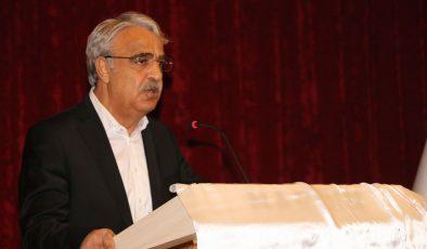 HDP Eş Genel Başkanı Mithat Sincar Mardin'de konuştu