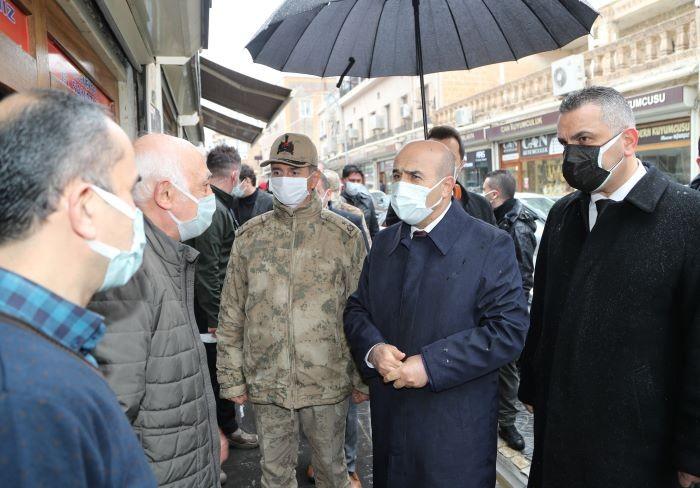Mardin'de düşük riski korumak için denetimler başladı
